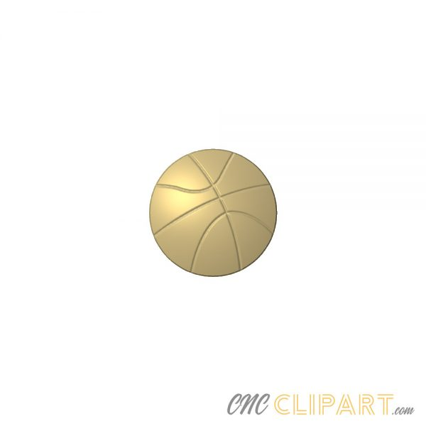 A 3D Relief Model of a Basketball