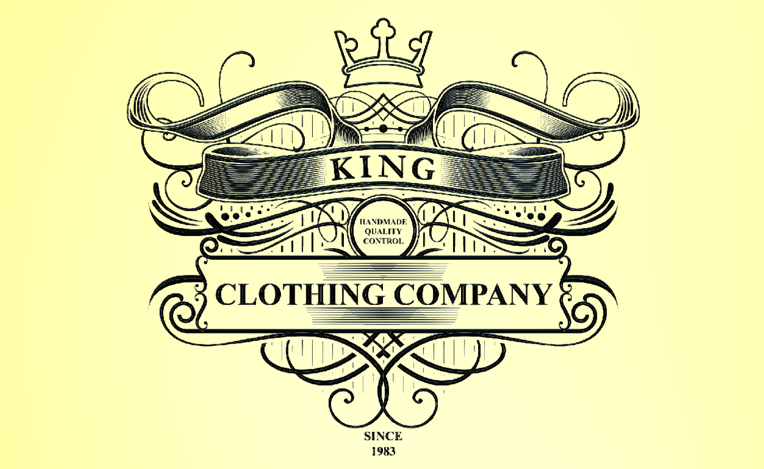 King Clothing Company Engraved plate