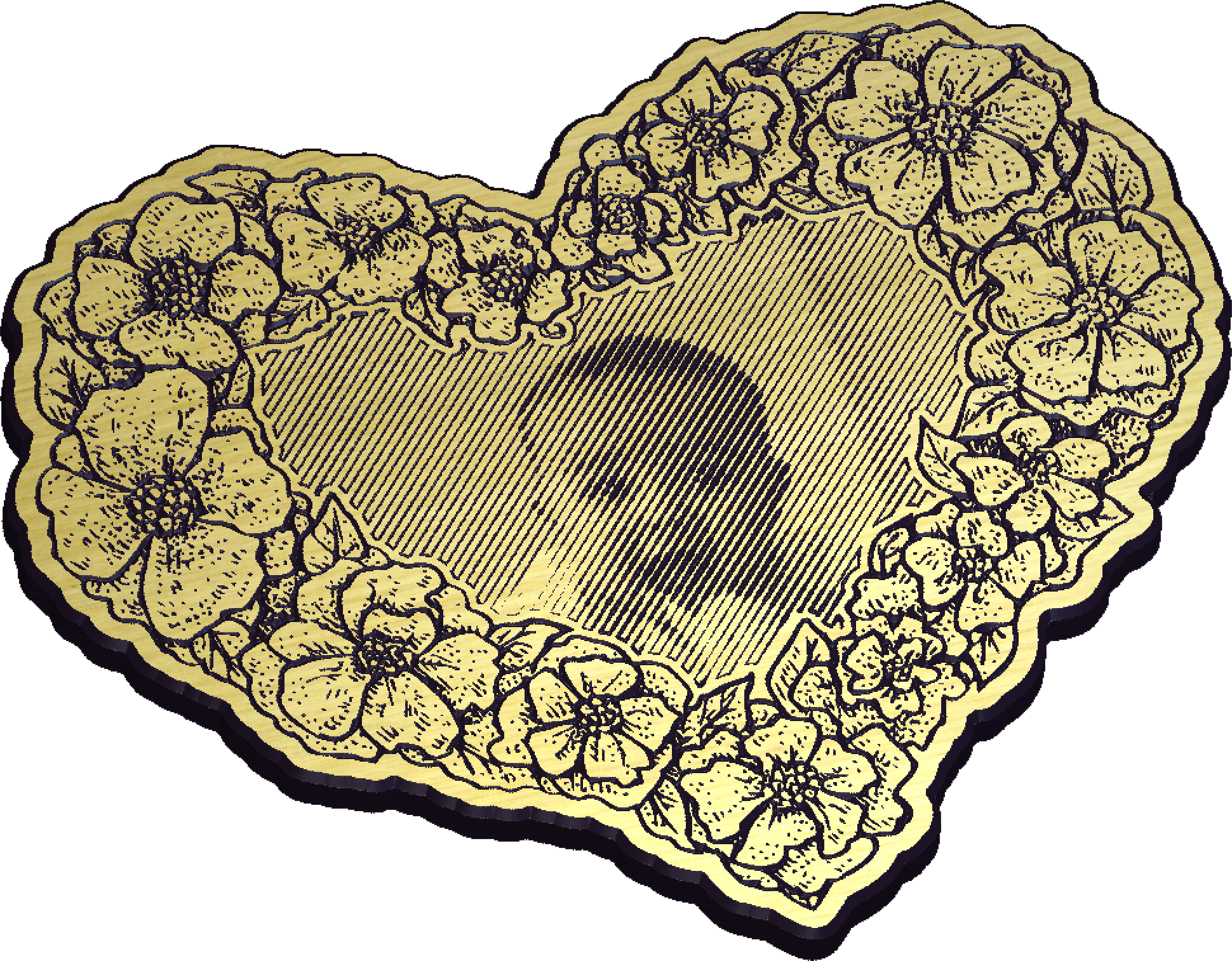 Carving a Vbit photo in a frame