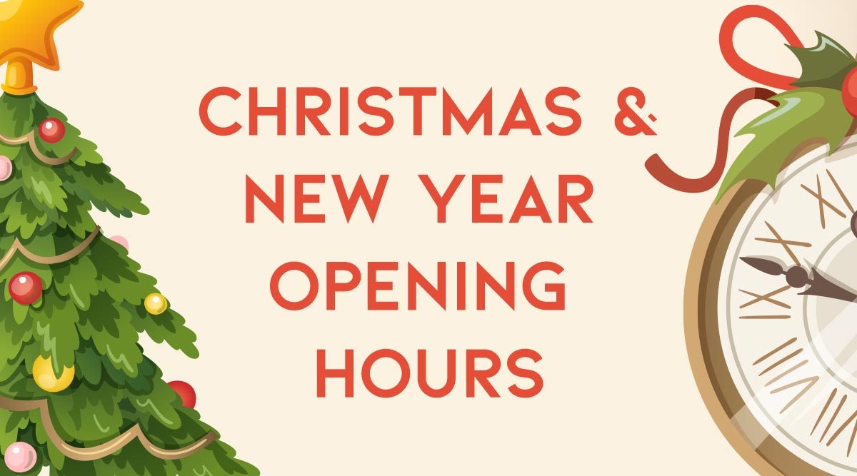 Carveco Christmas Opening Hours